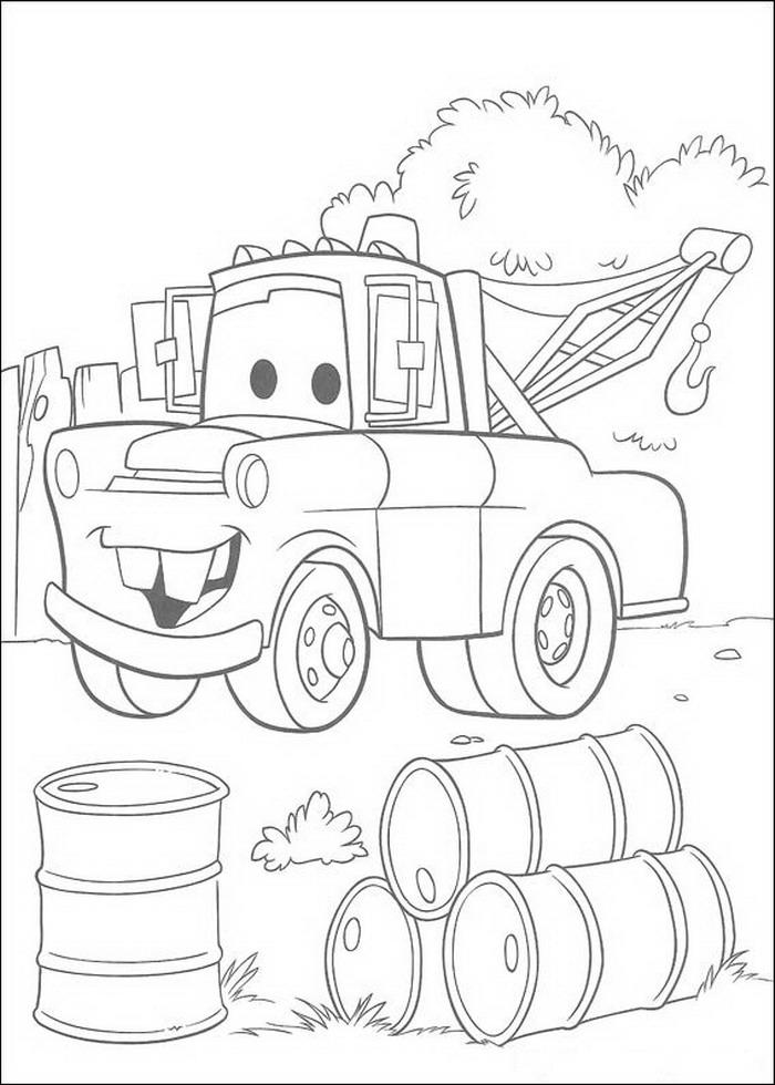 Cars Kleurplaten Om Uit Te Printen.Kleurplaat En Een Plaatje Van Cars Kinderspeelplein Nl