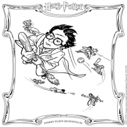 Harry Potter Kleurplaten En Spelletjes Kinderspeelplein Nl