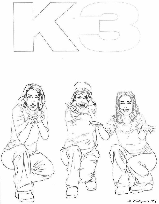 Kleurplaten Van K3.Kleurplaat En Een Plaatje Van K3 Kinderspeelplein Nl