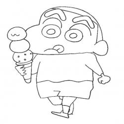 Shin Chan Kleurplaten En Spelletjes Kinderspeelplein Nl